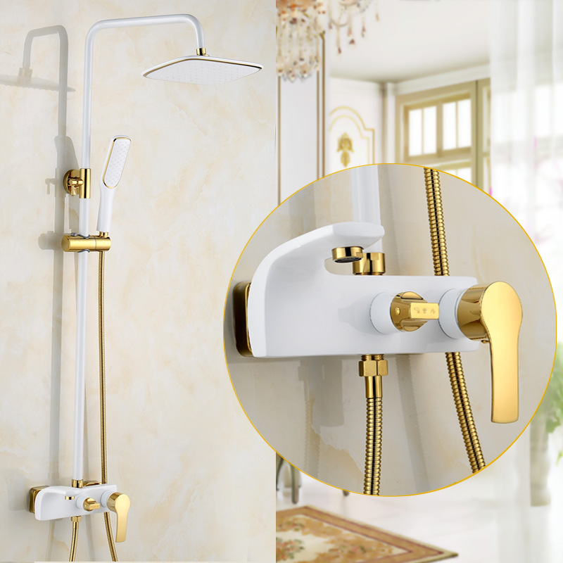 Gold Shower Faucet Set – Beds Baths and More
